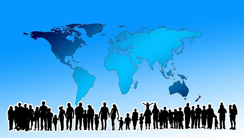 墊尺寸不同原因 各國人口平均身高不同