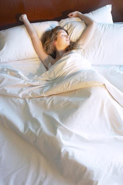 安心舒適的睡眠