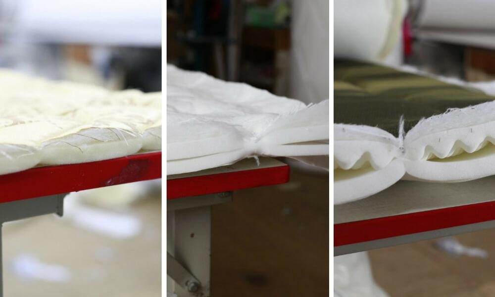 床墊車花間棉厚度比較
