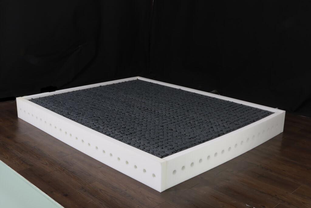 泡棉護框強化床沿
