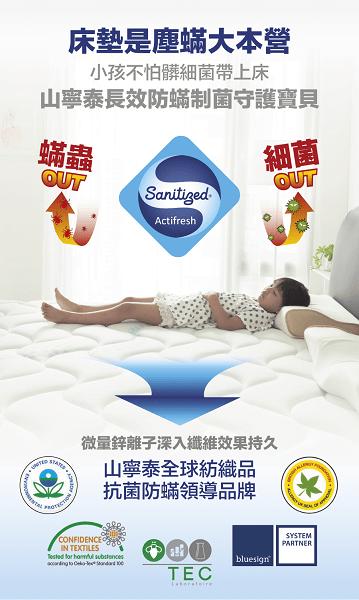 防蟎床墊推薦─安心寶貝