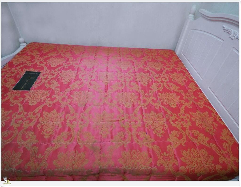 虎嬸吸油記 Derek bed 防水透氣保潔床包試用心得 原本床墊