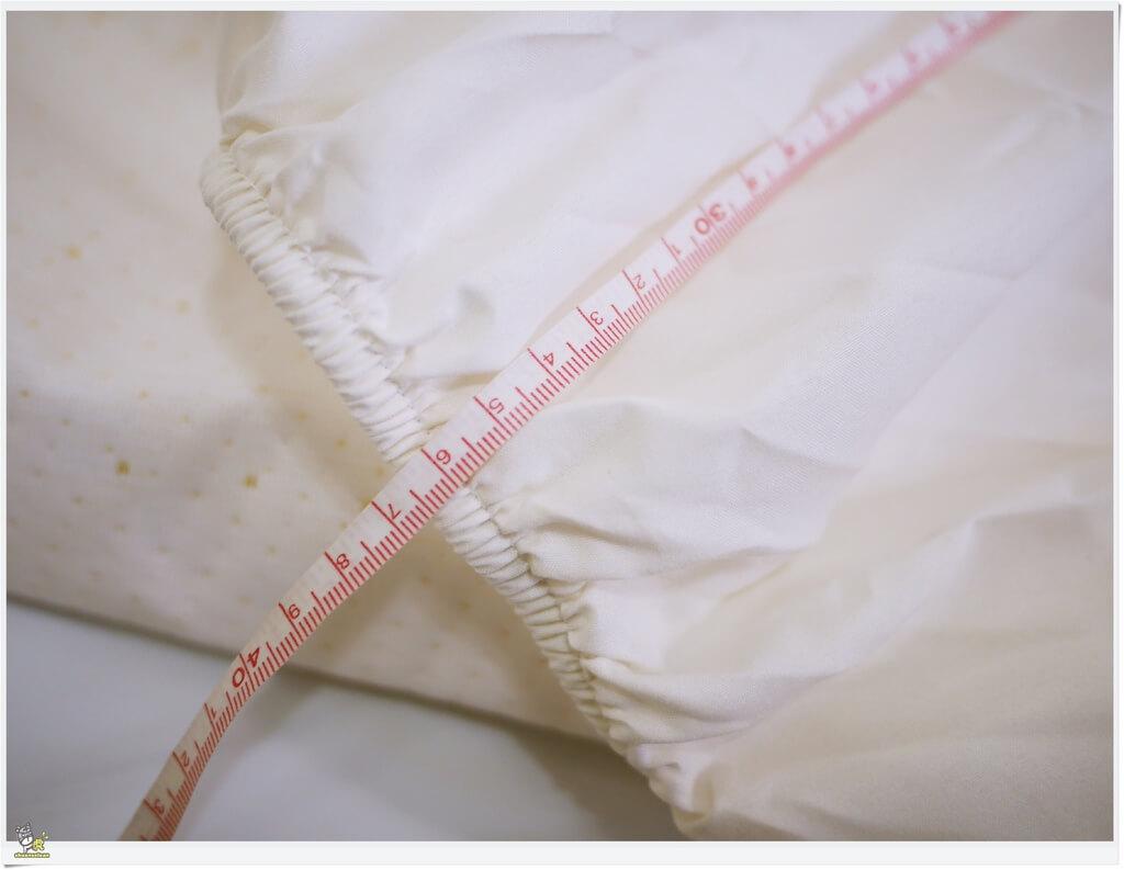 虎嬸吸油記 Derek bed 防水透氣保潔床包 可包覆達35公分高的床墊
