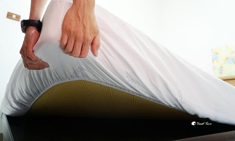 tinalife Cookuru瞬冰涼感床包使用照片